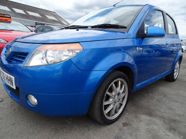 USED 2006 06 PROTON SAVVY 1.1 STYLE LOW MILES CHEAP INSURANCE