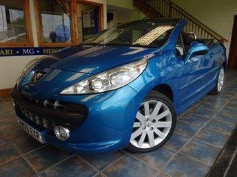 2009 PEUGEOT 207 1.6 GT COUPE CABRIOLET 2d AUTO 118 BHP £3950.00
