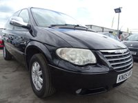2005 CHRYSLER GRAND VOYAGER 2.8 LIMITED 5d AUTOMATIC DVD SCREENS  £2195.00