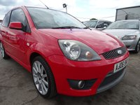 USED 2006 06 FORD FIESTA 2.0 ST 16V 3d 148 BHP DRIVES A1 LOW MILES