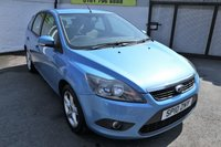 USED 2010 10 FORD FOCUS 1.6 ZETEC 5d 100 BHP *HPI CLEAR GREAT FAMILY CAR*