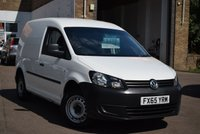 USED 2015 65 VOLKSWAGEN CADDY 1.6 C20 TDI STARTLINE 1d 74 BHP A well maintained 1 owner 2015 Vw Caddy 1.6tdi 75 Startline in white, priced at just £6499 + vat.
