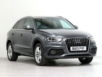 USED 2013 13 AUDI Q3 2.0 TDI QUATTRO S LINE 5d 138 BHP [4WD] LEATHER NAV HEAT-SEAT PRIVACY