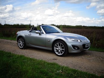 2010 MAZDA MX-5 2.0 MIYAKO ROADSTER I 2d 158 BHP Leather A/C FMSH £9295.00