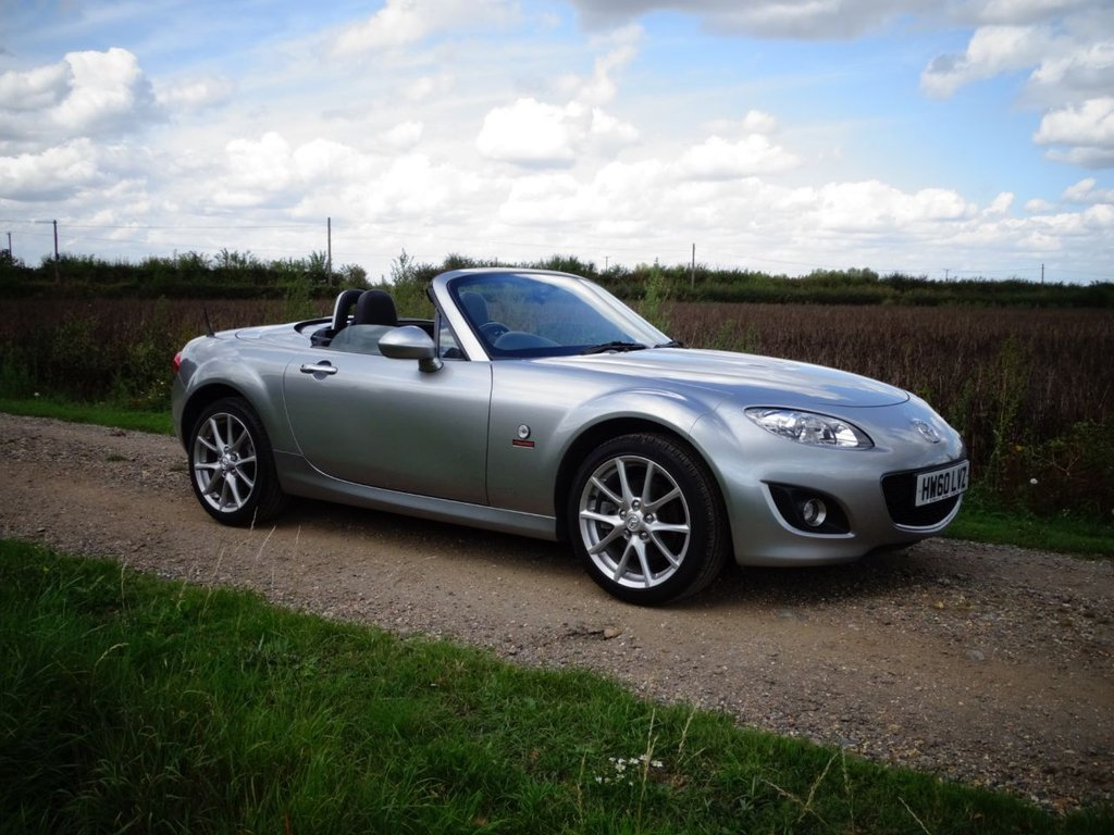 USED 2010 60 MAZDA MX-5 2.0 MIYAKO ROADSTER I 2d 158 BHP Leather A/C FMSH