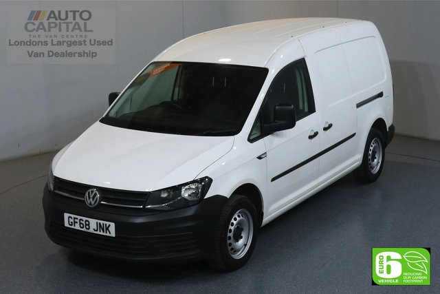 2018 68 VOLKSWAGEN CADDY MAXI 2.0 C20 TDI STARTLINE LWB 101 BHP EURO 6 ENGINE MANUFACTURER WARRANTY UNTIL 07/11/2021