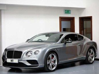 2015 BENTLEY CONTINENTAL 4.0 V8 GT S Auto 4WD 2dr £84995.00