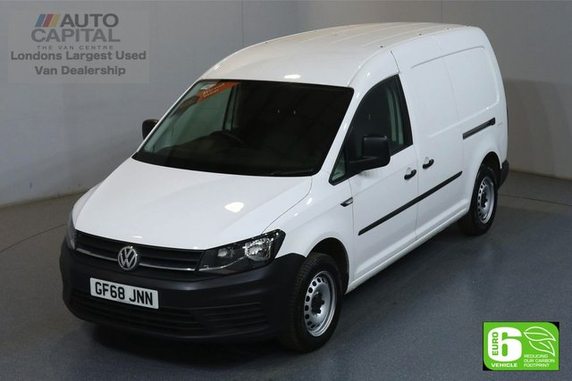 2018 68 VOLKSWAGEN CADDY MAXI 2.0 C20 TDI STARTLINE LWB 101 BHP EURO 6 ENGINE MANUFACTURER WARRANTY UNTIL 01/11/2021
