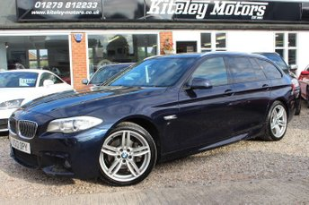 2012 BMW 5 SERIES 520D M SPORT TOURING HUGE SPECIFICATION £11495.00