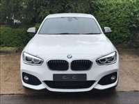 USED 2016 16 BMW 1 SERIES 2.0 120D M SPORT 5d 188 BHP A Pristine 2 Owner Car with Full BMW Main Dealer Service History, Full Coral Red Dakota Leather, Satellite Navigation + Bluetooth Connectivity + DAB Radio + USB Interface, Climate Control, Cruise Control, Leather M Sport Multi Function Steering Wheel, 18 Inch M Double Spoke Graphite Grey Light Alloy Wheels, Automatic LED Headlights