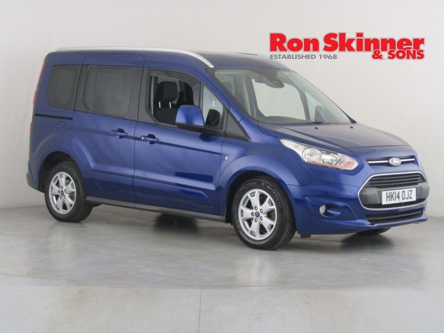 View our 2014 14 FORD TOURNEO CONNECT 1.6 TITANIUM TDCI 5d 94 BHP