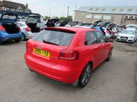 USED 2009 09 AUDI A3 2.0 TDI S LINE SPECIAL EDITION 3DR HATCHBACK DIESEL  140 BHP