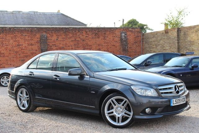 2009 09 MERCEDES-BENZ C CLASS C180 AMG SPORT KOMPRESSOR BLUEEFFICIENCY SE AUTO