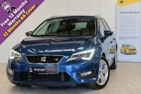 USED 2016 66 SEAT LEON 2.0 TDI FR TECHNOLOGY 5d 150 BHP SAT NAV, CRUISE CONTROL, ELECTRIC FOLDING MIRRORS, PARKING AID, FULL MAIN DEALER SERVICE HISTORY, TECHNOLOGY PACK