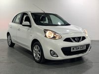 USED 2014 64 NISSAN MICRA 1.2 ACENTA 5d 79 BHP