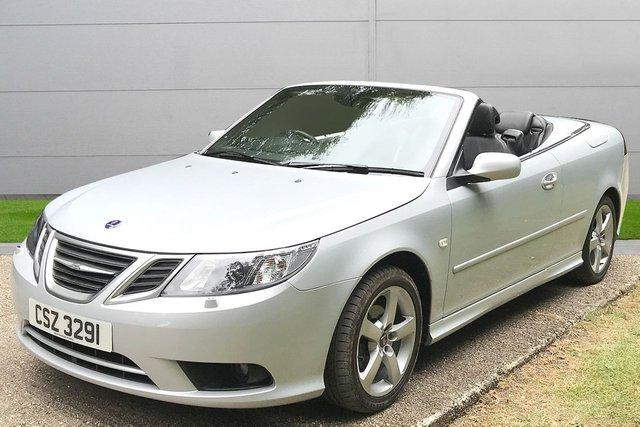 USED 2007 SAAB 9-3 1.8T Auto 2 dr Convertible (2008MY) 1 OWNER AUTOMATIC LOW MILEAGE, AIR CON, FINANCE ME TODAY-UK DELIVERY POSSIBLE