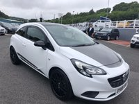 USED 2018 68 VAUXHALL CORSA 1.4 GRIFFIN 3d 74 BHP Sat Nav, heated seats & steering wheel, Sat Nav, Black Pack ++ 1,400 miles