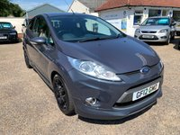 USED 2012 12 FORD FIESTA 1.6 METAL 3d 132 BHP ONE YEAR WARRANTY INCLUDED / FULL SERVICE HISTORY / REVERSE CAMERA / VOICE COMMS / BLUETOOTH / USB / HEATED SEATS