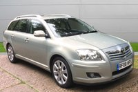 USED 2008 08 TOYOTA AVENSIS 2.0 TR TOURER D-4D 5d 125 BHP DIESEL ESTATE. NICE CAR. WE LIKE TO SAY YES! FINANCE ME TODAY-DELIVERY POSSIBLE