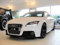 USED 2010 10 AUDI TT 2.0 TTS TFSI QUATTRO 2d 272 BHP, SAT NAV, REVERSING CAMERA, FULLY SERVICED Here we have a beautifully cared-for TTS Quattro with a great specification and fully serviced. 18in Gloss Black Alloy Wheels. MoT with no advisories until 17/2/2010. Serviced every year with the last one in January at 54472 miles. RAC Warranty included and 12 months RAC Assist.