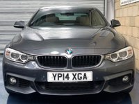 USED 2014 14 BMW 4 SERIES 3.0 435d M Sport Coupe 2dr Diesel Automatic xDrive (146 g/km, 313 bhp) +FULL SERVICE+WARRANTY+FINANCE