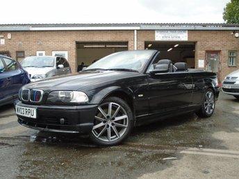 2003 BMW 3 SERIES 2.2 320CI 2d 168 BHP £395.00