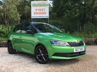 USED 2017 17 SKODA FABIA 1.0 COLOUR EDITION TSI 5dr Low Miles, PDC