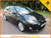 USED 2013 13 FORD FOCUS 1.6 ZETEC TDCI 5d 113 BHP Great Value Ford Focus 5 Door Diesel with Air Conditioning and Alloy Wheels in Black.
