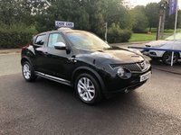 USED 2012 12 NISSAN JUKE 1.6 TEKNA 5d 117 BHP Buy with confidence from a garage that has been established  for 26 years.