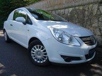 2008 VAUXHALL CORSA 1.3 SWB CDTI 1d 73 BHP CAR DERIVED VAN £2695.00