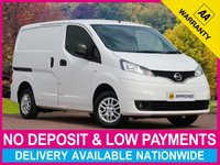 USED 2017 66 NISSAN NV200 1.5 DCI TEKNA VAN WITH SAT NAV REVERSE CAM AIR CON SATELLITE NAVIGATION REVERSE CAMERA AIR CONDITIONING