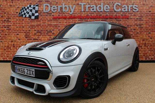 MINI HATCH JOHN COOPER WORKS at Derby Trade Cars
