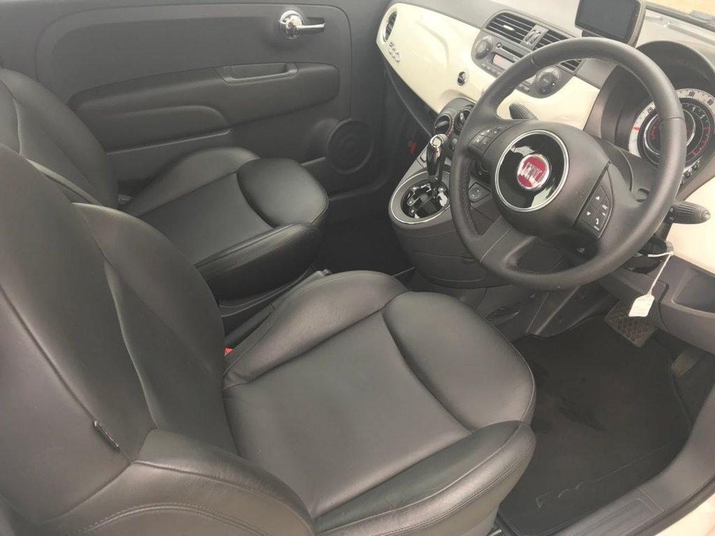 2011 Fiat 500 Lounge Dualogic £5,499