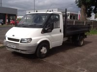 USED 2006 06 FORD TRANSIT TRANSIT STEEL BUCK TWIN REAR WHEEL TIPPER 2.4 350M * 51000 MILES * ONLY 51000 MILES