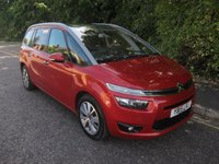 2015 CITROEN C4 GRAND PICASSO 1.6 BLUEHDI EXCLUSIVE PLUS 5d 118 BHP,* ULEZ COMPLIANT* £10990.00