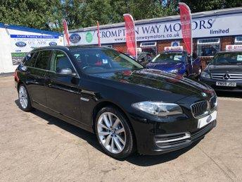 2013 BMW 5 SERIES 2.0 520D SE TOURING 5d 181 BHP £9995.00