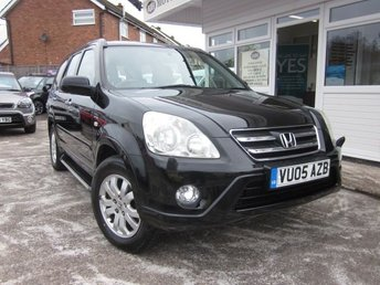 2005 HONDA CR-V 2.0 I-VTEC EXECUTIVE 5d 148 BHP £2995.00