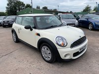 USED 2010 60 MINI HATCH ONE 1.6 ONE 3d 98 BHP SERVICE HISTORY