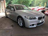 2015 BMW 5 SERIES 2.0 520D M SPORT TOURING 5d AUTO 188 BHP £13975.00