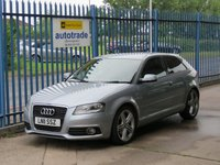 2011 AUDI A3 1.8 TFSI S LINE 3dr 1/2 Leather Privacy glass Alloys £7000.00