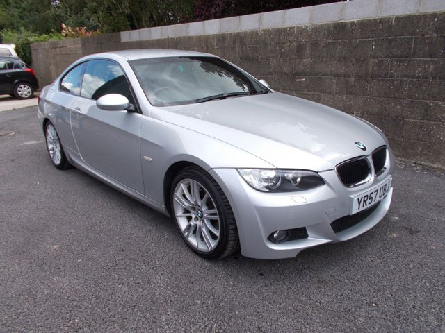 2007 57 BMW 3 SERIES 320i M SPORT Coupe 2dr 168 BHP