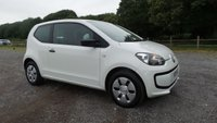 USED 2013 13 VOLKSWAGEN UP 1.0 TAKE UP 3d 59 BHP SERVICE HISTORY,CD-RADIO, 2 X KEYS, LOW ROAD TAX, IDEAL1ST CAR, SUPERB MPG. ONE OWNER, WHITE, SAME DAY FINANCE, NATION WIDE DELIVERY