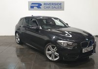 USED 2012 62 BMW 1 SERIES 2.0 116D M SPORT 5d 114 BHP FINANCE AVAILABLE FROM 7.9% APR