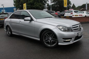 2012 MERCEDES-BENZ C CLASS 2.1 C220 CDI BLUEEFFICIENCY AMG SPORT 4d 168 BHP £8619.00