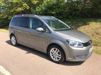 USED 2011 11 VOLKSWAGEN TOURAN 1.6 SE TDI 5d 106 BHP **LONG MOT ** SUPERB DRIVE ** LOT OF FAMILY FEATURES**
