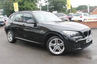 USED 2012 62 BMW X1 2.0 SDRIVE20D M SPORT 5d 181 BHP LOW MILES - 2 OWNERS - SERVICE HISTORY - VERY WELL CARED FOR EXAMPLE
