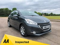 USED 2014 64 PEUGEOT 208 1.2 ACTIVE 5d 82 BHP
