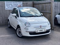 USED 2011 11 FIAT 500 1.2 LOUNGE 3d 69 BHP A MUST SEE! 0% DEPOSIT FINANCE AVAILABLE