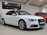 USED 2014 14 AUDI A5 2.0 TFSI QUATTRO S LINE SPECIAL EDITION 2d AUTO 222 BHP