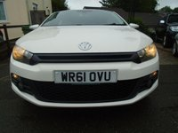 USED 2011 61 VOLKSWAGEN SCIROCCO 2.0 GT TDI BLUEMOTION TECHNOLOGY 2d 140 BHP